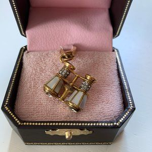 Juicy Couture Opera Glasses Charm - RARE